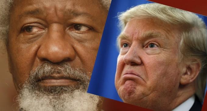 Trump's victory: I'll tear my green card on January 20, says Soyinka