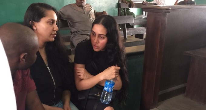 To be remanded in prison! Indian prostitutes, Jyoti and Kiran Matharoo, arraigned in court for trying to blackmail Femi Otedola