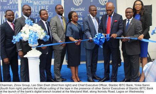 Ekeh lauds Stanbic IBTC bank at launch of pioneer digital branch