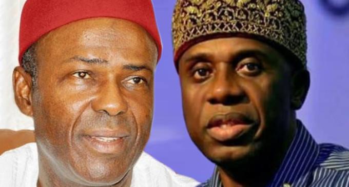 Bribery: Court okays suit seeking Amaechi, Onu's arrest, sacking