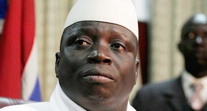 Troops, Nigerian warship head for Gambia to sack Jammeh