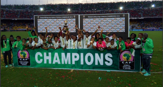 AWCON 2016: Falcons subdue Lionesses, win eighth title