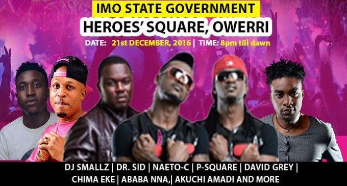 P-square, Dr. Sid, others rock Owerri with Yudala