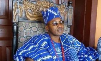Oluwo's Security Escort Van Stolen in Lagos Hotel