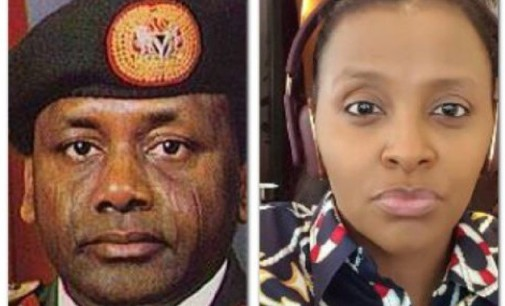 The Abacha crucifix…Late Sani Abacha's daughter, Fatima, laments citizens' animosity on Twitter