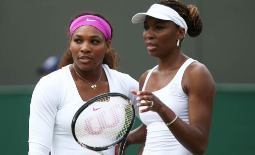 SISTERS AT WAR: Venus battles Serena in Aussie Open final