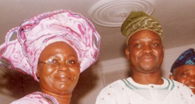 Dear God, Shame my husband's enemies! Ayo Fayose's wife blows hot