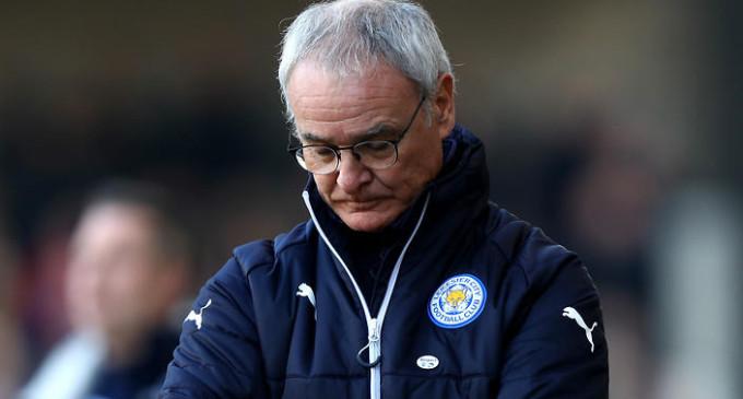 Leicester sack Ranieri