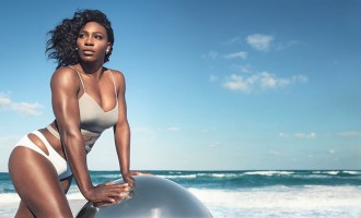 Serena dazzles in Swimsuit shoot