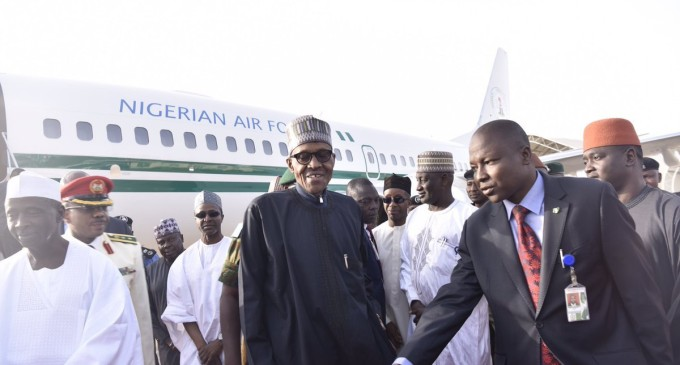 BREAKING: Buhari returns to Nigeria