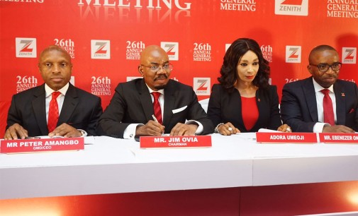 Zenith Bank Shareholders Approve N63.4bn Dividend, Applaud Performance