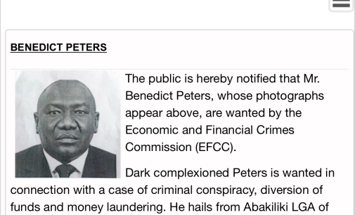 Who's after Benny Peters? As EFCC declares oil mogul wanted on its website
