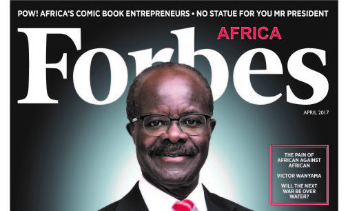 Dr. Papa Kwesi Nduom covers the April edition of @ForbesAfrica