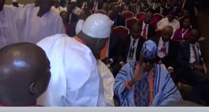 Royal rumble! Oba of Lagos, Akiolu disgraces Ooni of Ife, Ogunwusi publicly