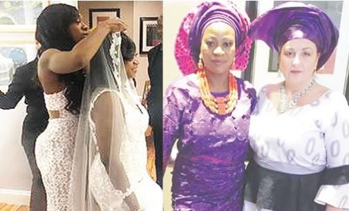 SHOCKING: 53-year-old Female Nigerian marries lesbian partner in US