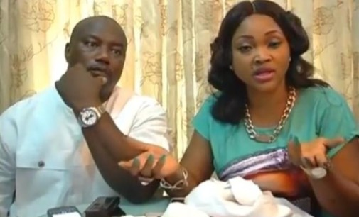 Lord have mercy! The storm within the actress, Mercy Aigbe family