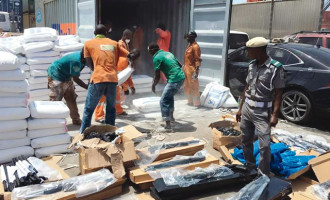 Customs seize container with 440 guns imported from Turkey