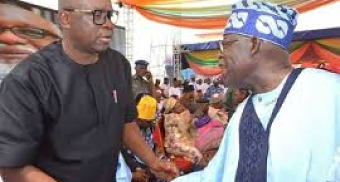 Fayose kept mum…as Tinubu turns the savior