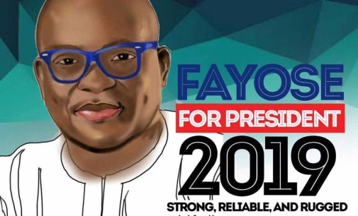 Fayose inaugurates presidential campaign