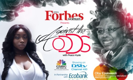 "Against The Odds with Peace Hyde"" Oby Ezekwesili shares her inspirational nerve -breaking story"