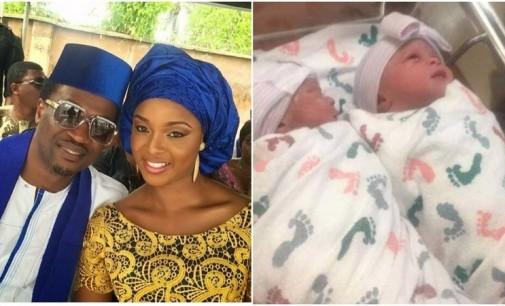 Psquare's Paul Okoye welcomes twins