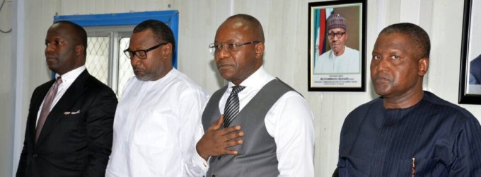 Well done ! Ibe Kachikwu Tells Dangote to Speed up Completion of His Lagos Refinery