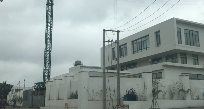 The swollen belly of his pride! See Pictures of Gov. Amosun's New Multi-Billion Naira Mansion