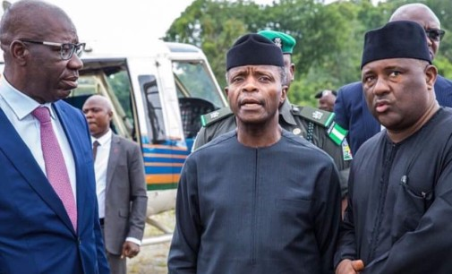 BUA Cement Plant is a Big Boost to the Nigerian Economy…Vice President Osinbajo Says as He Commissions the One Billion Dollar Cement Factory in Edo State