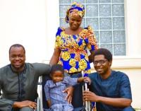 Heart of Gold! Dickens Sanomi Foundation Sponsors Medical Bill of 6 Year Old Boko Haram Victim.
