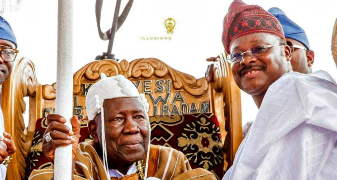 Ibadan 21 obas: Olubadan sues Ajimobi, 23 others