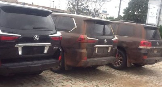 Customs seizes smuggled N1.3b exotic cars