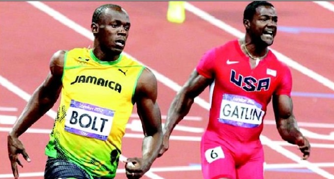 Usain Bolt dethroned in last competitive race
