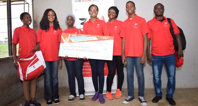AWARD WINNING SCHOOLGIRL, KATHERINE ETA, CHALLENGES OTHER STUDENTS AS ORGANISERS MOVE TO ENLARGE COMPETITION