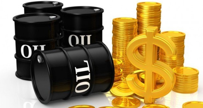 Oil prices fall as Saudi, Russian output rises