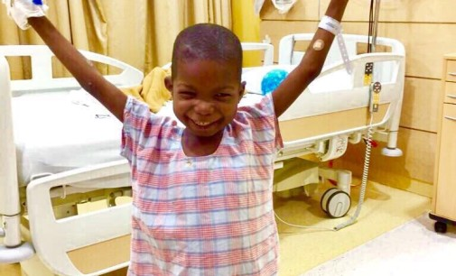 And He Walks Again… How Sanomi Foundation Made Boko Haram's Victim, Ali Ahmadu Back On His Feet First Time In 3 Years