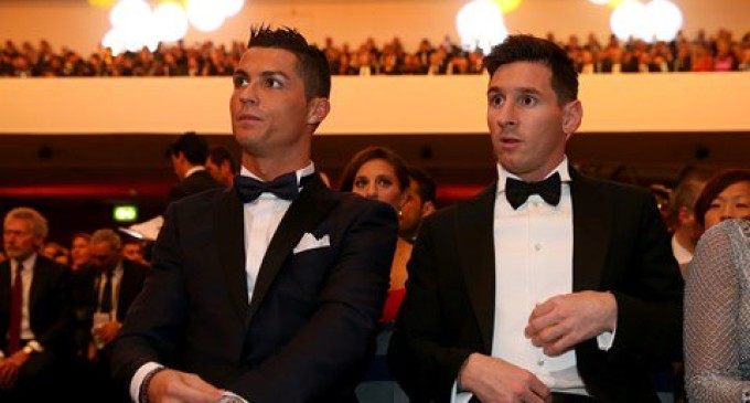 Pay me as high as Messi or I leave, Ronaldo tells Madrid's bosses