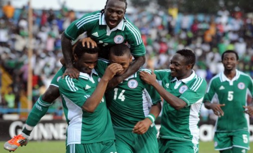 Eagles wallop Cameroon 4-0 in Uyo