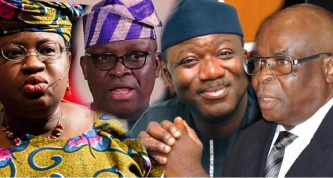 CJN, Okonjo-Iweala, Fayemi, Fayose, others under probe –EFCC