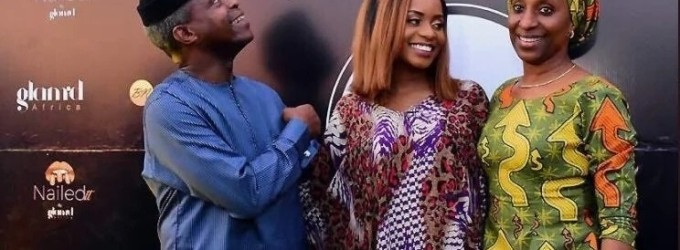 Breaking! Vice President Osinbajo's daughter, Kiki, turns beautician, opens multi-million naira beauty shop