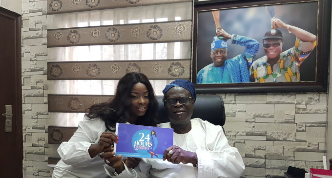 Stamp Of His Honour…Baba Eto Throws His Weight Behind 24hourswithbodex Reality Show