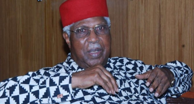 Anambra poll: Ekwueme dumps Obiano, backs Obaze