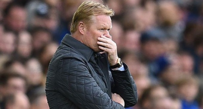 BREAKING: Everton sack manager Ronald Koeman