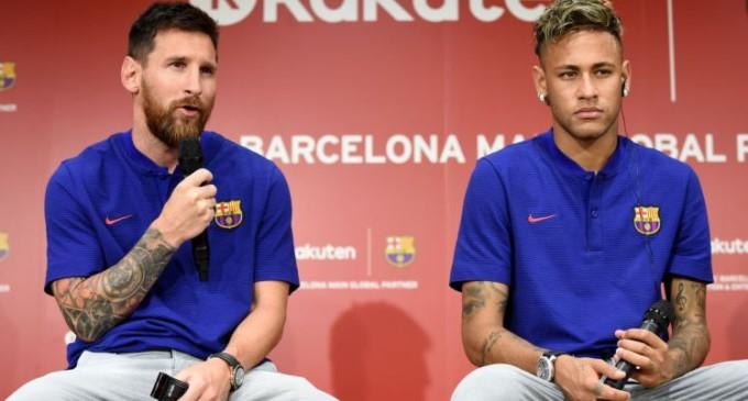 ISIS threatens Messi, Neymar