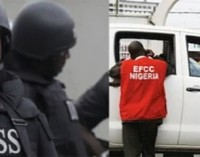 Drama as DSS operatives stop EFCC from arresting ex-DG