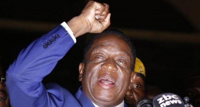 Zimbabwe's Mnangagwa takes power, vows to serve all citizens