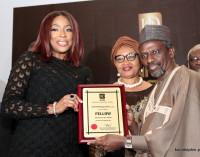The Stamp Of Her Honour! Mo Abudu JoinsAliko Dangote And Peter Obi As Honourees At The 2017 Institute Of Directors Nigeria Awards.