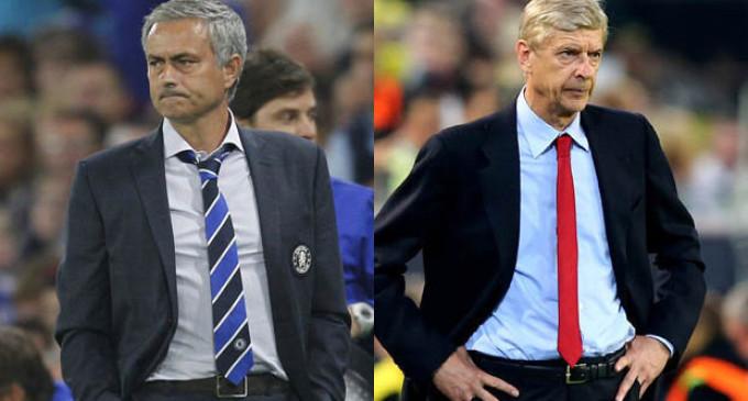 Wenger slams Mourinho
