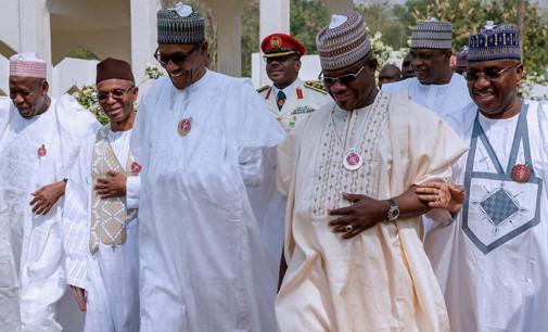 Buhari, APC Govs Meet In Aso Rock