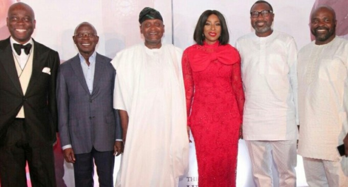 Men like gods…Otedola, Dangote, Jim Ovia, Herbert Wigwe, Adams Oshiomohole, others, Fall In Love With Mo Abudu's Royal Hibiscus Hotel Premiere
