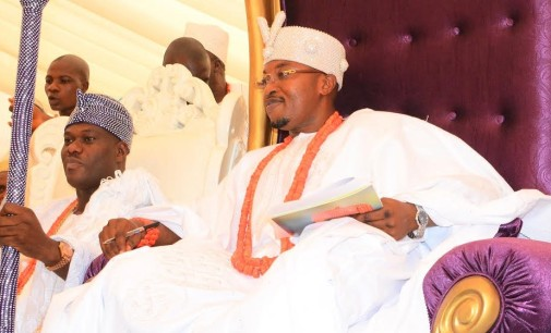 Royal rumble: Ooni ordered his guard to push me at public gathering, Oluwo alleges